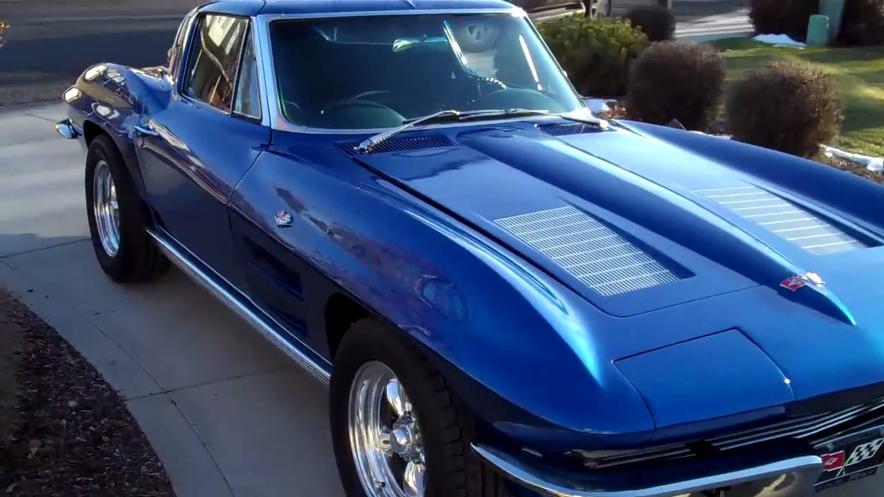 Gunters Restored 1963 Split Window Corvette Test Drive