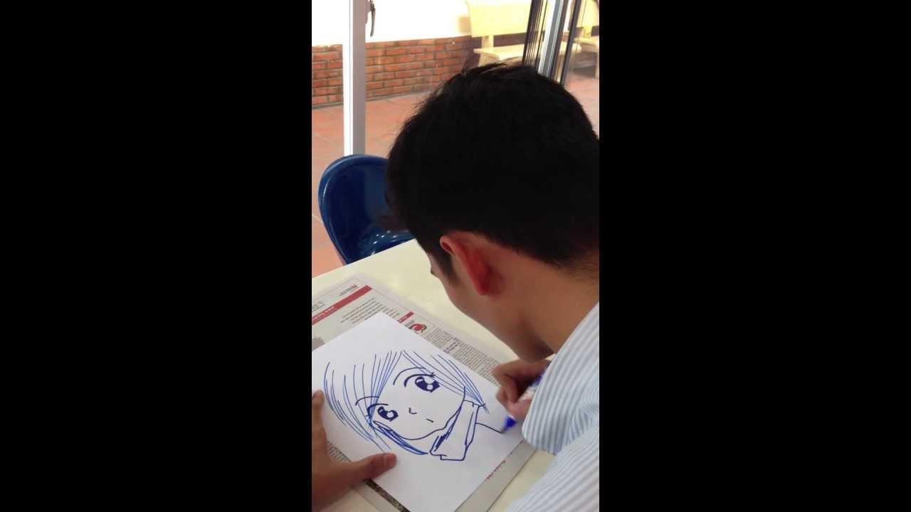 Vẽ Chibi siêu tốc trong vòng 1 phút 50 giây !