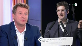 Yannick Jadot : la bataille des écolos ! - C à Vous - 25/03/2019