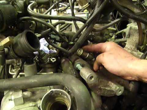 Porsche 996 Turbo Coolant Pipe  YouTube
