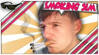 "Smoking Simulator Funny Moments - ""Stress Levels Over 9000!!!"""