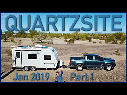 The West 2019 Part 5: Boondocking In The Desert, RTR 2019