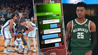 Lost my nike shoe endorsement & accidentally injured russell westbrook | nba 2k18 mycareer #7