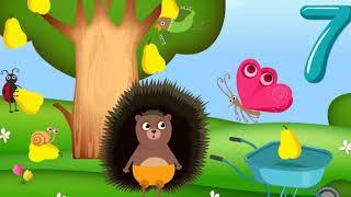 Учимся считать от 1 до 10  Развивающие мультфильмы для детей