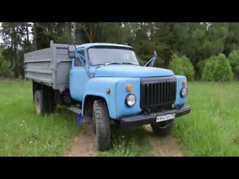 ГАЗ-53 ОБЗОР.РЕТРО ЗВЕРЬ ИЗ СССР/ Газон.
