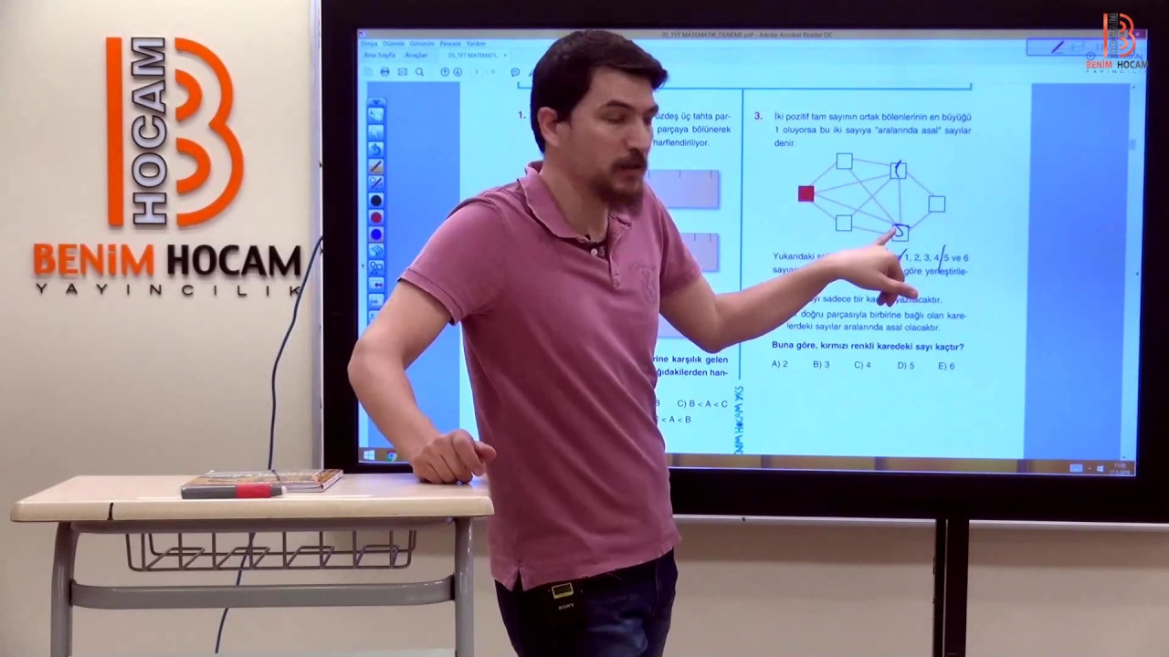 9)İlyas GÜNEŞ 2019 YKS-TYT Matematik 5. Deneme Çözümleri - I