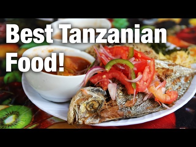The Best Tanzanian Food I Have Ever Eaten at Grace Shop