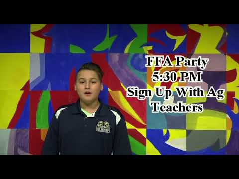 Foley High School Morning Announcements for August 15, 2018