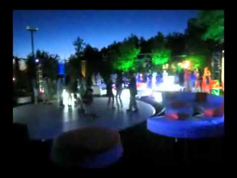 Cell Phone Video From A Backyard Club Themed Party