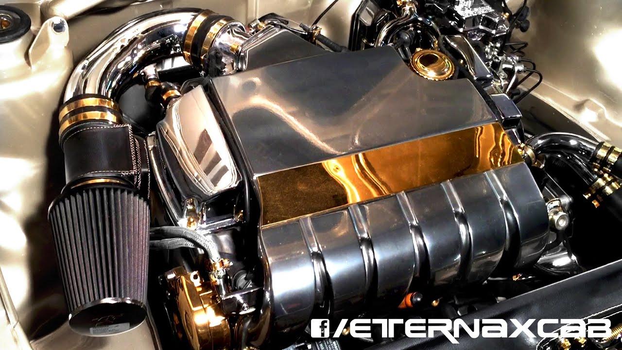 EternaX VW Golf MK3 Convertible Cabrio - Custom & Chrome VR6 Engine