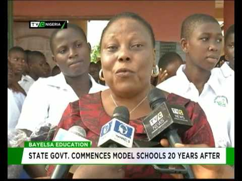 Bayelsa State govt. commences model schools 20 years after