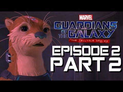 Guardians of the Galaxy Walkthrough - EPISODE 2 PART 2 - Llyla Rocket's girl!!