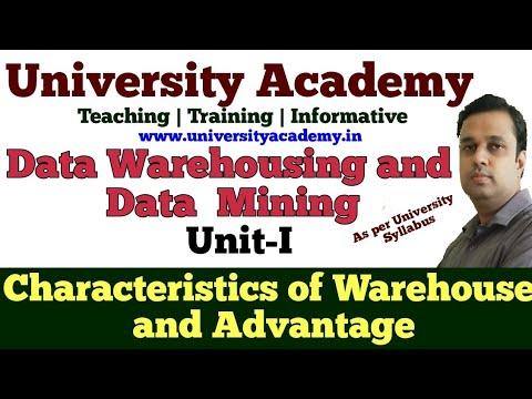 DWM3: Data Warehousing And Data Mining |Characteristics | Advantage | Evolution Of Database
