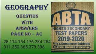 Download ABTA HIGHER SECONDARY TEST PAPERS 2019-20.PAGE NO - AC 28/114/147/176/234/254/311/350/365/379/396