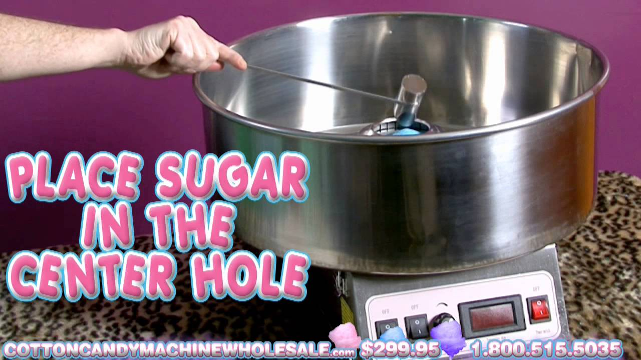 how to make sugar free cotton candy