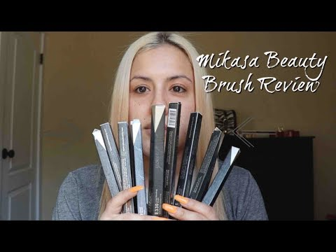 Mikasa Beauty Brushes Review & ABH Soft Glam Palette