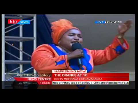 Governor Hassan Joho gets a standing ovation for challenging President Uhuru at the Coast