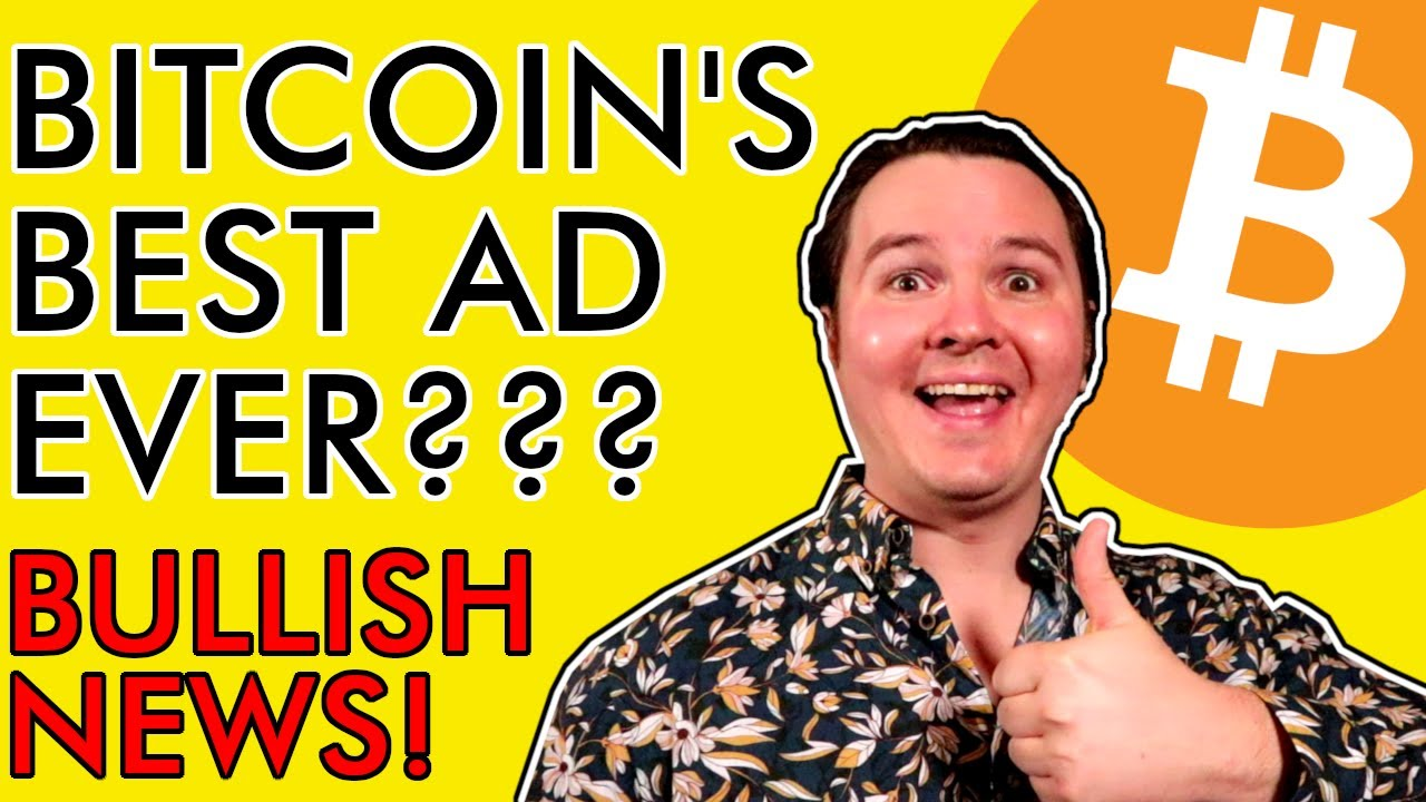 THIS COULD BE THE BEST BITCOIN ADVERTISEMENT EVER!!! BIG BUY SIGNALS FLASHING! [Mega Bullish News]