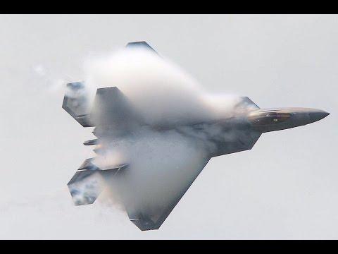 F-22 Raptor Spectacular Display RIAT 2016