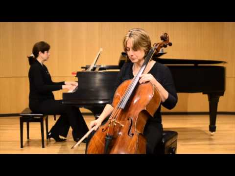 Kate Dillingham plays Haydn Cello Concerto in D Major first movement