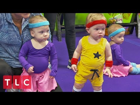 Zumbini Class with the Babies | Sweet Home Sextuplets