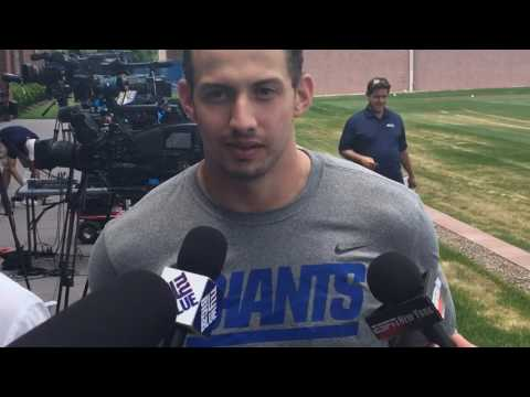 How is Giants rookie QB Davis Webb doing?