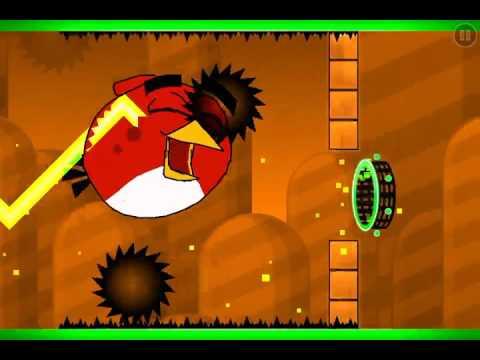 Angry Birds Level (Geometry Dash)