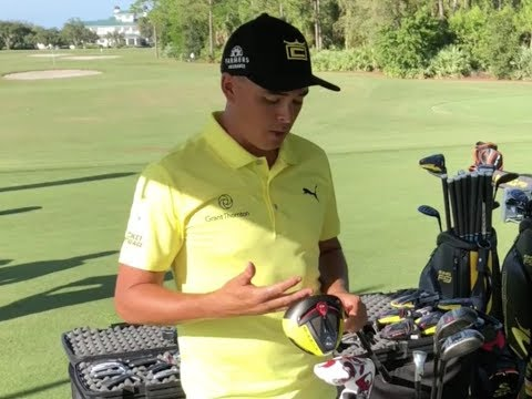 "Rickie Fowler ""What's in the Bag?"" with new Cobra driver"