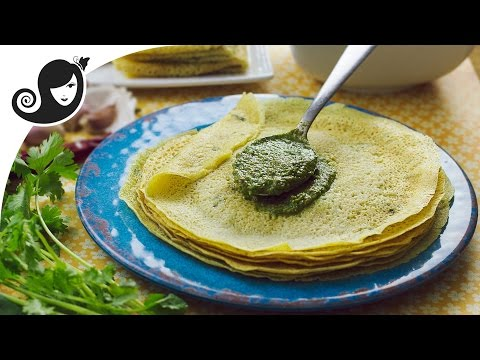 Vegan Crepes (with aquafaba) - Mauritian Savoury Crepes | Dairy-free + Eggless Recipe