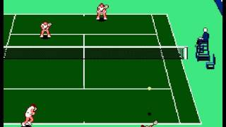 NES A-Z: Evert & Lendl Top Player's Tennis