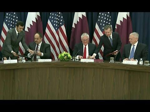 James Mattis & Rex Tillerson: U.S.- Qatar Strategic Dialogue 1/30/2018