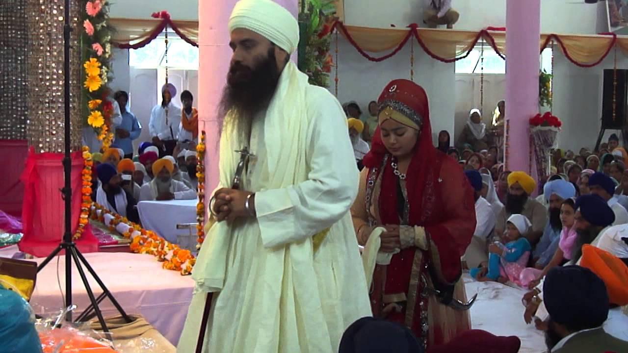 sant baljit singh daduwal during his marriage   youtube