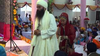 Sant Baljit Singh Daduwal during his marriage