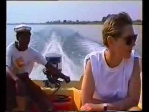 Botswana road trip 1992