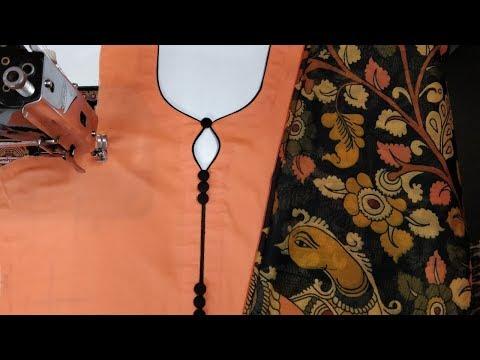 Very beautiful kurti neck design making in very easy way