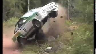 Päämies-ralli, 24.7.1999 - crash & action from SS2