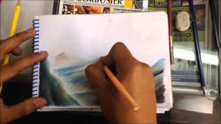 Técnicas de pintado con colores - Paisajes CAP.2
