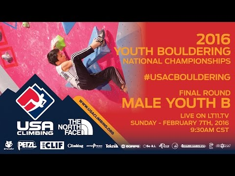 Male Youth B • Finals • Sunday February 7th 2016 • LIVE 9:30AM CST