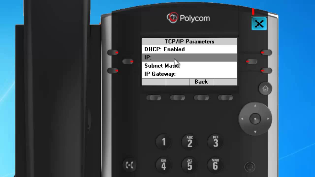 How to Configure Polycom VVX Handset Accessing the Web UI | SIPcity VoIP  Provider