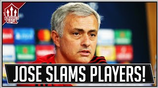 MOURINHO Slams Man Utd Players? Man Utd News