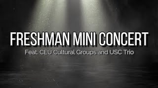 CEU Virtual Mini Concert Teaser YouTube Videos