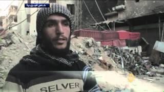 المعارضة تسيطر على أحياء في حرستا بريف دمشق