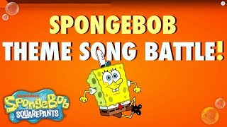 We all know who lives in a pineapple under the sea. The real question is, which version of the SpongeBob theme song do you like better? Nick Stars or Nick ...