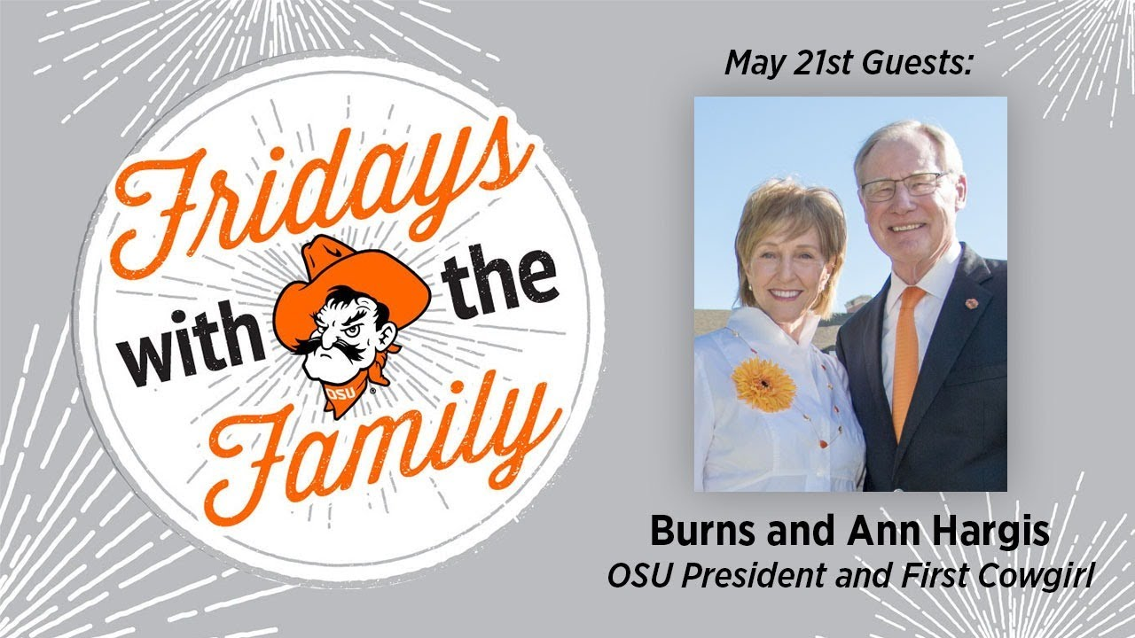 Image for Fridays with the Family: Burns and Ann Hargis webinar