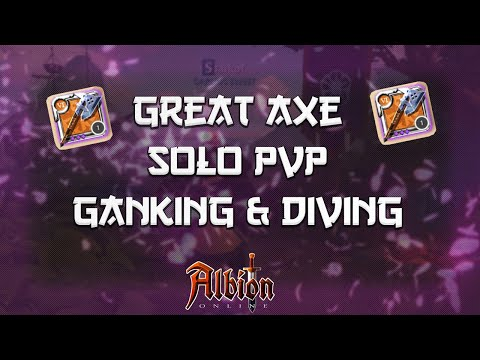 Albion Online - Solo PvP GreatAxe - Black Zone