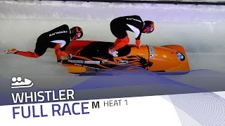 Whistler | BMW IBSF World Cup 2016/2017 - 2-Man Bobsleigh Heat 1 | IBSF Official