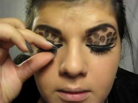 Leopard Eyes Makeup Tutorial Youtube