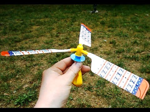 Amazing balloon helicopter toy