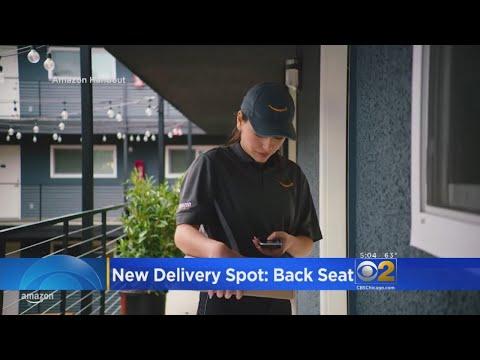 Amazon car deliveries