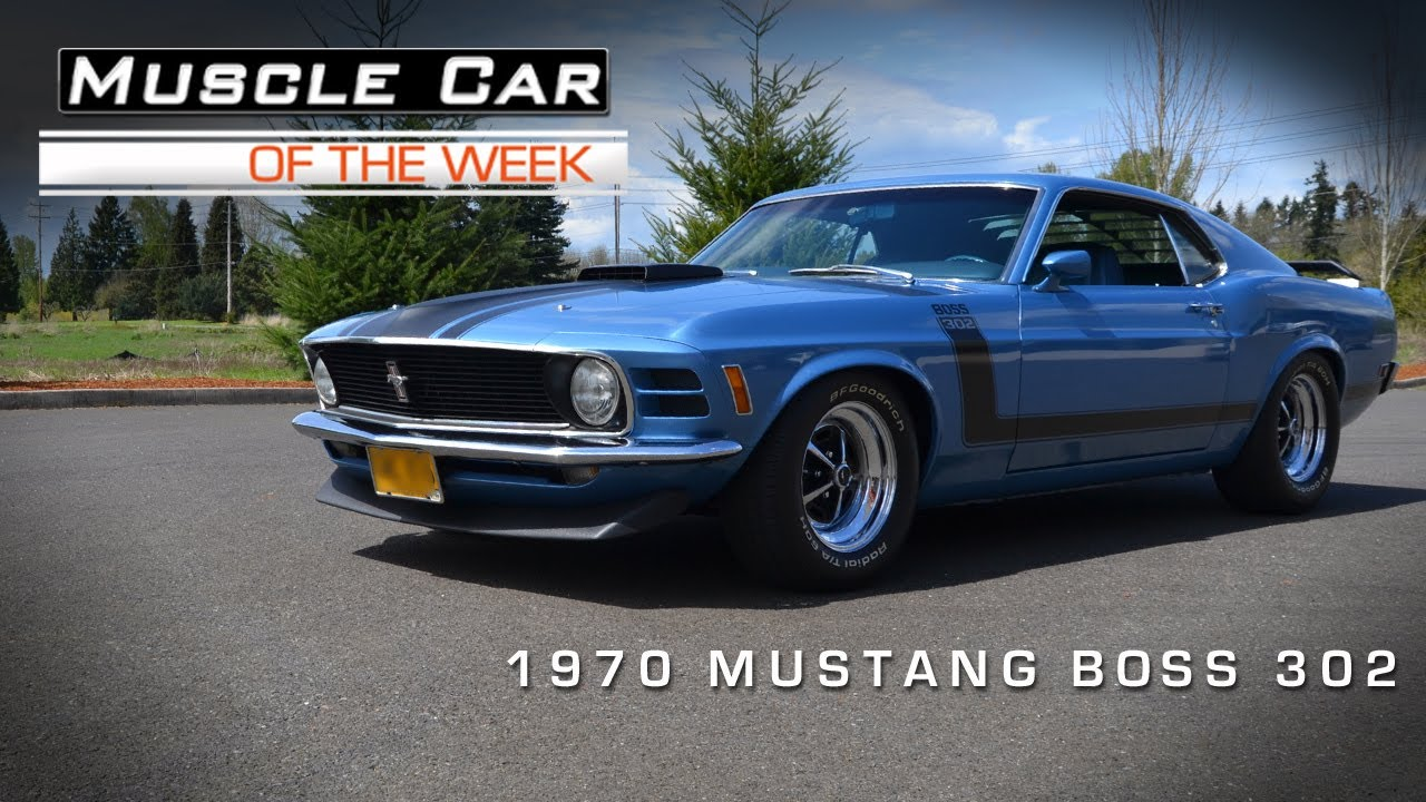 Muscle Car Of The Week Video Ford Mustang Boss Youtube